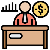 CEO at desk money improved picture