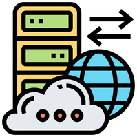 Database server cloud information big data